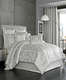 Five Queens Court Kennedy Queen Comforter Set