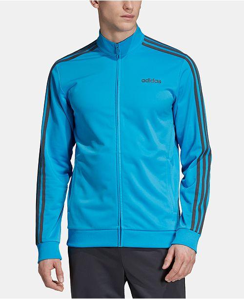 adidas Men's Essentials 3 Stripe Track Jacket & Reviews