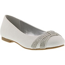 Little & Big Girls Vote Bling Dress Shoe