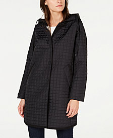 Weekend Max Mara Mini-Quilted Long Jacket