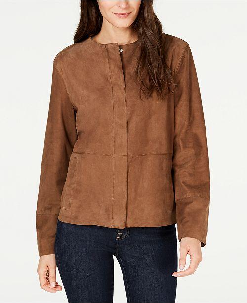 Weekend Max Mara Essere Goat-Skin Leather Jacket