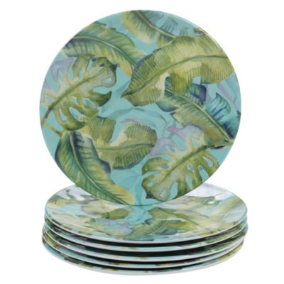 Melamine Tropicana 6-Pc. Salad Plate
