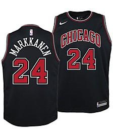 Lauri Markkanen Chicago Bulls Statement Swingman Jersey, Big Boys (8-20)