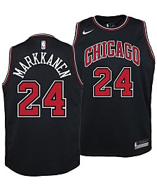 Nike Lauri Markkanen Chicago Bulls Statement Swingman Jersey, Big Boys (8-20)