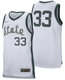 Nike Men's Michigan State Spartans Retro Basketball Jersey