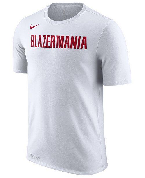 670d54372 Nike Men s Portland Trail Blazers Earned Edition T-Shirt   Reviews ...
