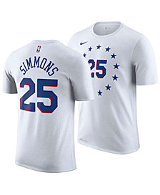 Nike Men's Ben Simmons Philadelphia 76ers Earned Edition Player T-Shirt