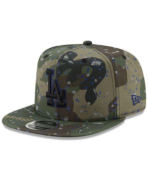 New Era Los Angeles Dodgers Camo Spec 9FIFTY Snapback Cap - Sports ... ea63b1d545c