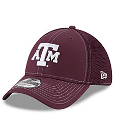 New Era Texas A&M Aggies Team Color Neo 39THIRTY Stretch Fitted Cap