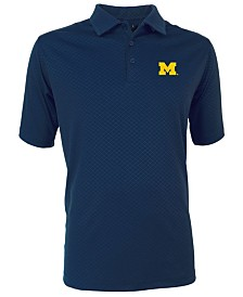 Antigua Men's Michigan Wolverines Inspire Polo