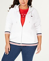 e311b85a2552c4 Tommy Hilfiger Sport Plus Size French Terry Zip-Up Hoodie