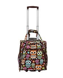 Rockland Owls Underseat Softside Luggage