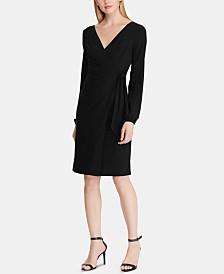 Lauren Ralph Lauren Petite Belted Jersey Dress