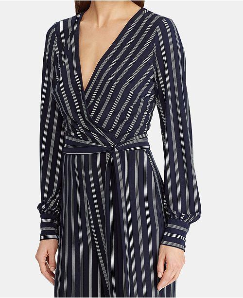 4e70a8553e2b Lauren Ralph Lauren Striped Jumpsuit   Reviews - Jumpsuits   Rompers ...