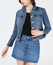 Maison Jules Denim Jacket, Created for Macy's
