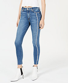 Joe's The Icon Frayed Ankle Skinny Jeans