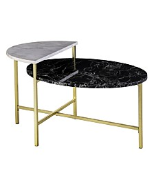 Holly and Martin Bickly 2-Level Cocktail Table