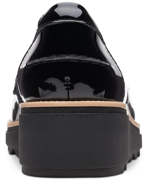 b16deb58 ... Clarks Collection Women's Sharon Gracie Platform Loafers, Created for  Macy's ...