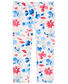 First Impressions Toddler Girls Butterfly-Print Leggings, Created for Macy's