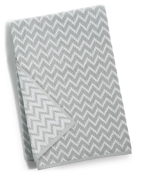 "Cobra CLOSEOUT! Chevron Cotton 27"" x 54"" Bath Towel"