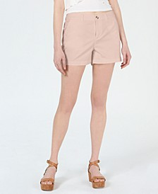 Flat-Front Chino Shorts, Created for Macy's