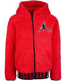 Jordan Big Boys Air Jordan Jumpman Zip-Front Hoodie