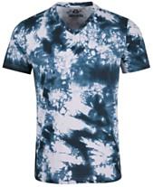 a6b412001 American Rag Men s Tie-Dyed V-Neck T-Shirt