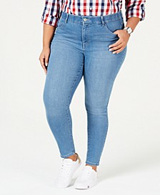 Plus Size Skinny Jeans, Bedford Wash