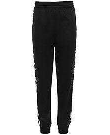 Ideology Little Boys Graffiti-Stripe Jogger Pants, Created for Macy's