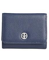 330fdb5ae555c Giani Bernini Softy Leather Trifold Wallet