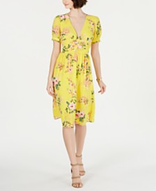 19 Cooper Floral-Print Shift Dress
