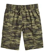 df8a9b2fcd Epic Threads Big Boys Camo-Print Cotton Cargo Shorts, Created for Macy's