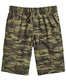 Epic Threads Little Boys Camo-Print Cotton Cargo Shorts, Created for Macy's