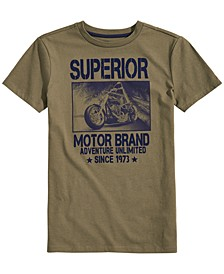 Big Boys Superior Graphic T-Shirt, Created for Macy's