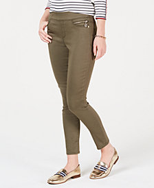 Tommy Hilfiger Sateen TH Flex Skinny Ankle Pants