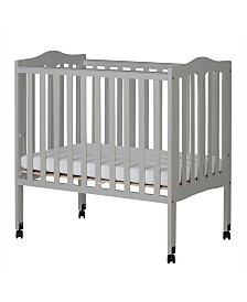 Dream On Me Folding Portable Crib