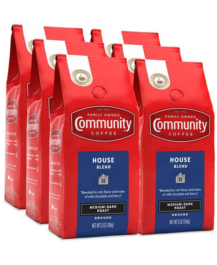 Community Coffee - CS-6: 12 OZ HOUSE BLEND