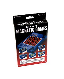 Pressman Toys - 6 In 1 Magnetic Games
