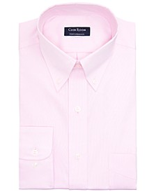 Men's Slim-Fit Performance Stretch Wrinkle-Resistant Pinpoint Dress Shirt, Created for Macy's