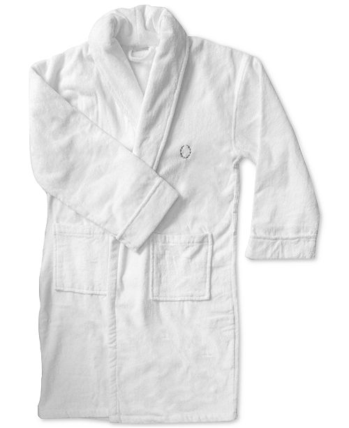 Lenox 100% Turkish Cotton Velour Bath Robe   Reviews - Macy s 36bfe770f
