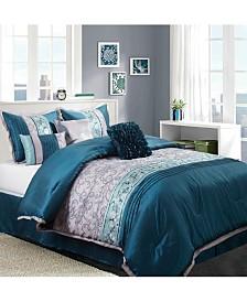 Juliana 7-Piece Queen Comforter Set