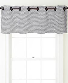 "Fuller Grommet Top Curtain Valance, Aluminum, 54 x 18"""
