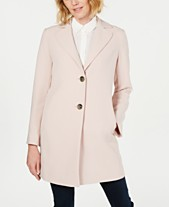 2801f0b2bdf T Tahari Jayden Single-Breasted Coat