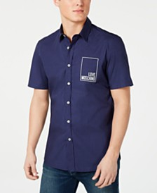 Love Moschino Men's Logo Shirt