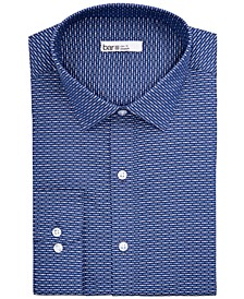 Men's Slim-Fit Stretch Easy-Care Assorted Printed Dress Shirt, Created for Macy's