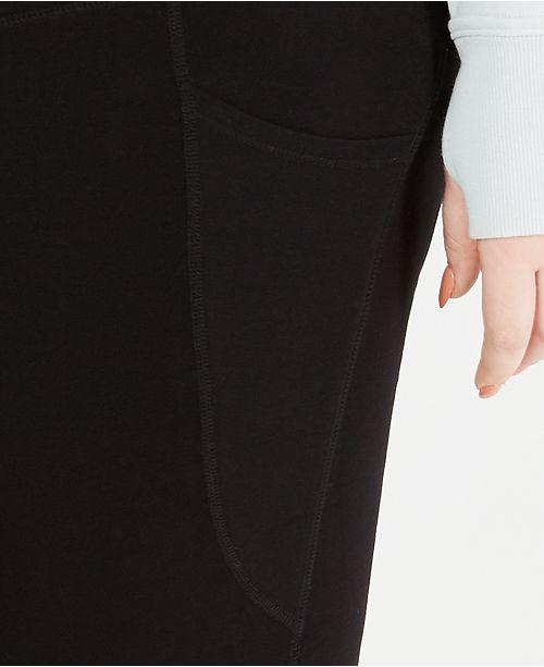 99134d24e9a5a6 Calvin Klein Plus Size Lattice Ankle Leggings & Reviews - Pants ...