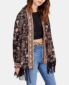 Free People Kaelin Open-Front Jacket