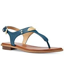 63380576378dda MICHAEL Michael Kors MK Plate Flat Thong Sandals