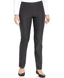 Petite Cambridge Slim-Leg Pants, Created For Macy's