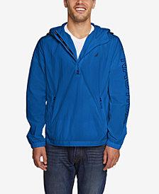 Nautica Men's Half-Zip Crinkle Jacket, Created for Macy's